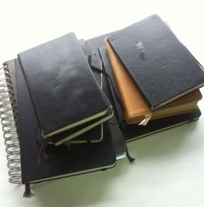 Journals & Notebooks, but mostly Moleskines