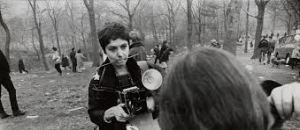 Diane Arbus at work.