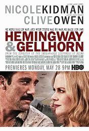 Hemingway & Gellhorn--the movie.