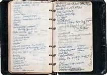Notebook, 1959