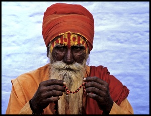 A Sadhu, Holy Man of India