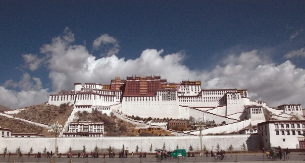 The Potala, home and palace of the Dalhi Lama.