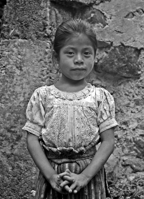 School Girl, Guatamala